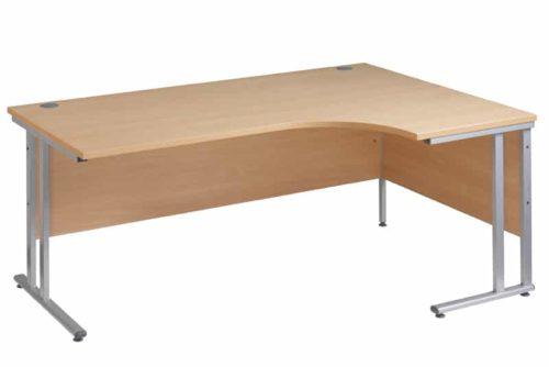 OAK Ergnomic 1800mm Right Hand Corner Desk